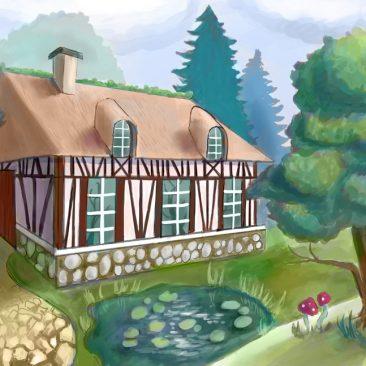 Maison du lac