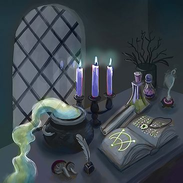 Autel d'alchimiste